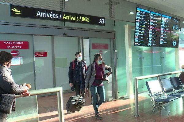 Les tests covid sont imposés pour tout passager arrivant d'un pays extérieur à l'Union européenne