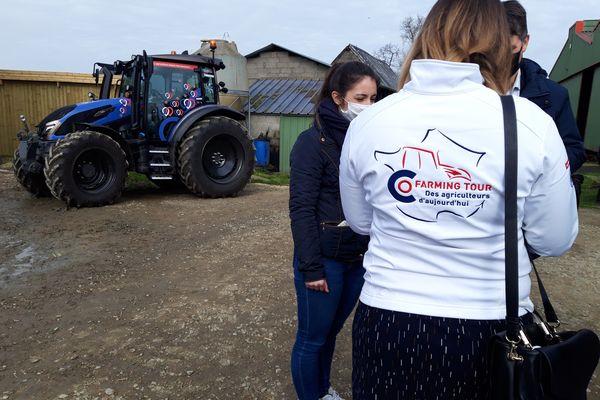 Lors de ce tour de France en tracteur, Thierry Baillet et cofarming vont à la rencontre des acteurs du monde agricole.