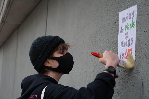 A 15 ans, Mattia, lycéen de Clermont-Ferrand, est un militant actif de Fridays For Future.