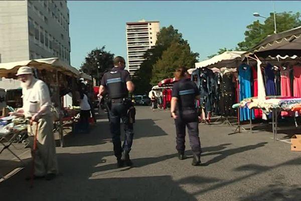 La police nationale comme municipale sont présentes au quotidien dans le quartier de Planoise