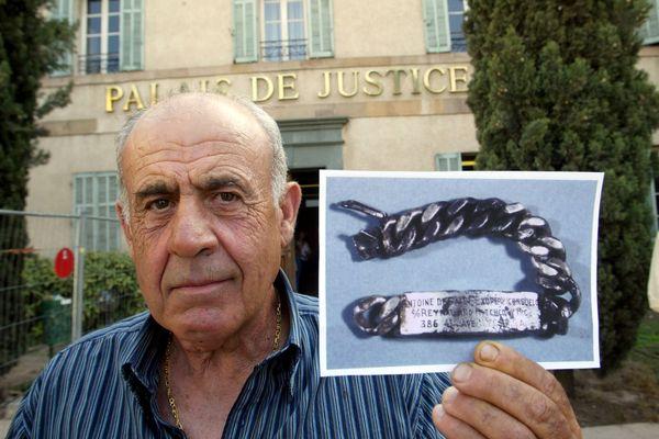 Jean-Claude Bianco, patron pêcheur marseillais à l'origine de la découverte de la gourmette de Saint-Exupéry