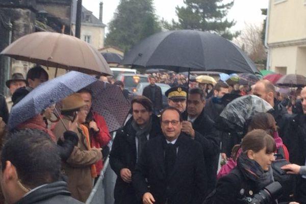 Commémorations du 20ème anniversaire de la mort de François Mitterrand.