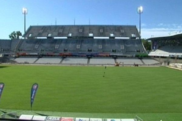 Le stade de La Mosson avec une capacité supérieure à 30 000 places est bien placé pour accueillir la finale de Pro D2.