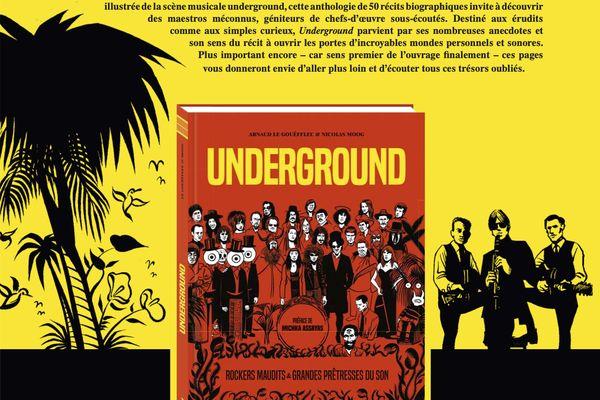 La couverture de la bible de la musique indépendante : Underground