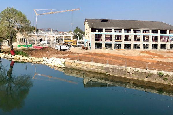 Les anciennes usines des chamoiseries de Niort se transforment