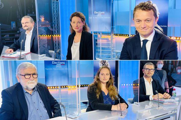 Départementales 2021 dans le Finistère : le débat entre les principaux candidats