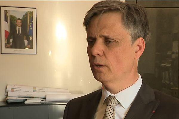 Lionel Beffre, préfet de l'Isère