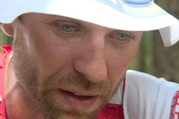 A 35 ans, François d'Haene a remporté sa première HardRock aux Etats-Unis. Sur la photo, il venait de remporté le Grand Raid, surnommée la Diagonale des Fous, de la Réunion en 2018.