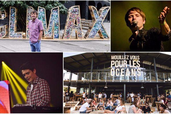 Nicolas Hulot (en haut à gauche), Franz Ferdinand (droite) et Kungs (en bas à gauche) seront notamment les invités du festival Climax 2017.