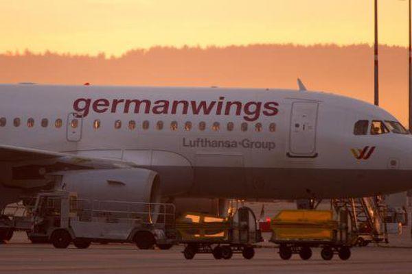 Un avion de la compagnie allemande Germanwings, le 29 août 2014, à Stuttgart (Allemagne).