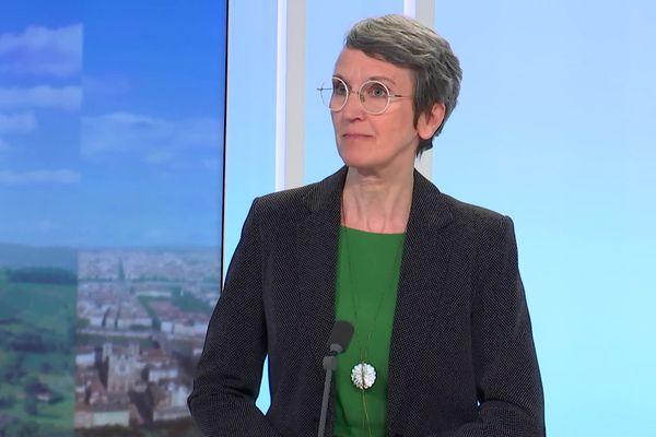 Interviewée parFrance 3 jeudi 25 février, Fabienne Grévert a ouvert la porte à une alliance avec la gauche, mais sous conditions.
