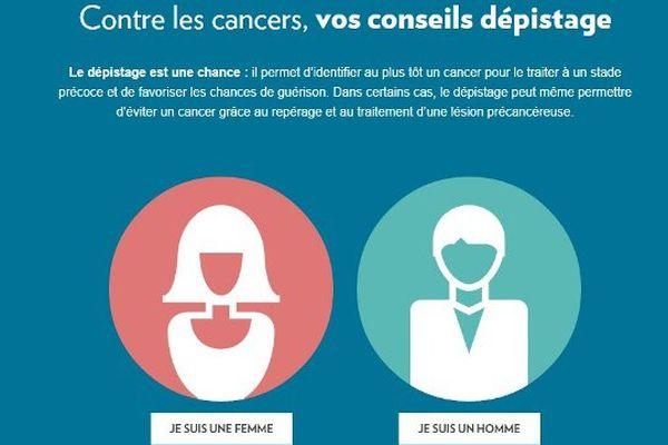 Une approche personnalisée des dépistages du cancer en 2 clics