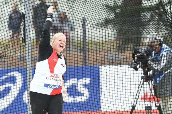 Alexandra Tavernier, lors des Championnats de France en 2019.