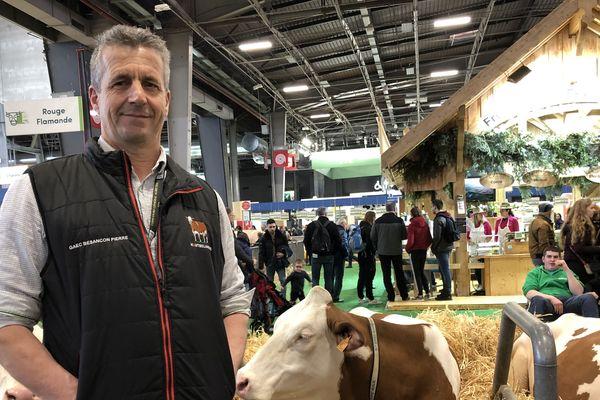 Pierre Besançon au salon de l'agriculture de Paris