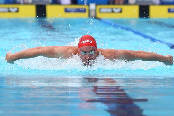 Avec ces championnats de France, le nageur joue son ticket pour les championnats du monde de juillet, en Corée du Sud