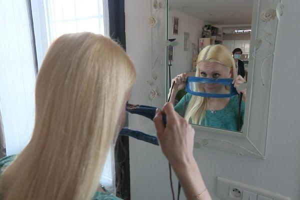 Ni chirurgical, ni en tissu, le masque transparent est conçu à la maison pour une raison essentielle : communiquer avec les autres.