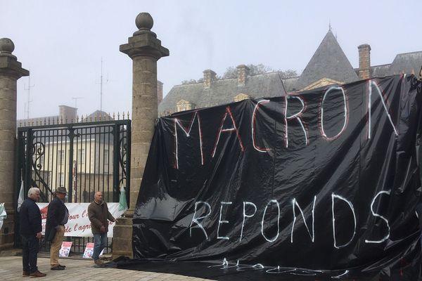 Manifestation des agriculteurs Alençon, 22 octobre 2019