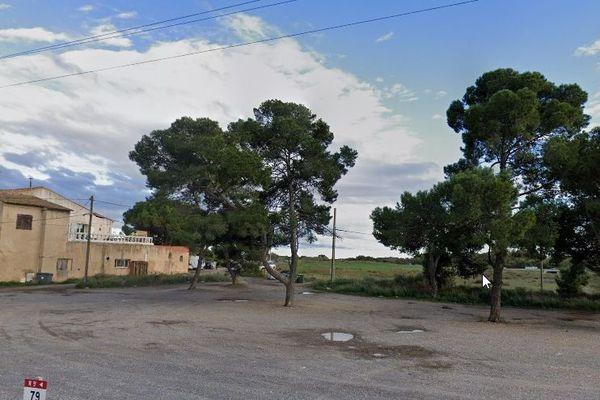 C'est dans le campement situé Chemin Cantagal à Béziers derrière le restaurant du même nom qu'a eu lieu ce faits divers.