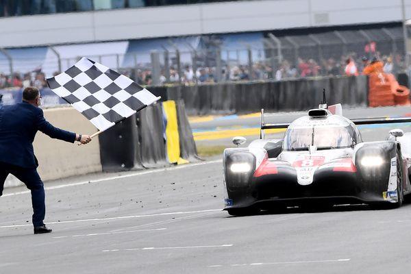 La Toyota n°8 a terminé à la première place du podium de l'édition 2019.