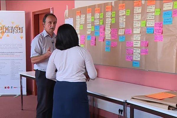 Le catalyseur de l'université Paul Sabatier à Toulouse aident les étudiants qui souhaitent créer leur entreprise