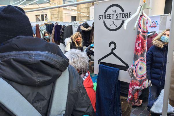 """""""Street Store"""" est un concept qui est proposé ailleurs dans le monde. Rouen est la première ville de France à l'avoir organisé en 2017."""