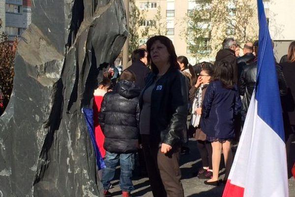 Une stèle a été installé à Niort pour permettre aux Arméniens de la région de venir se recueillir.