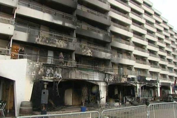 L'incendie avait fait de gros dégâts matériels
