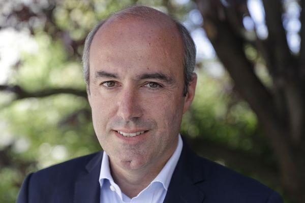 Olivier Marleix, député Les Républicains, au début de son mandat.