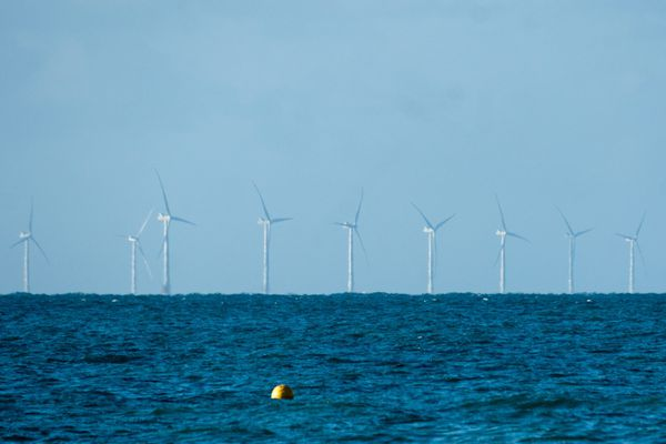 les éoliennes de Rampion Offshore Wind Farm