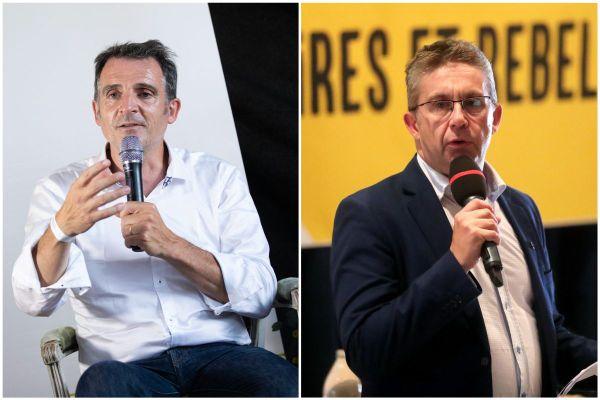 Le 17 juillet dernier, Eric Piolle, le maire de Grenoble, avait soutenu un autre candidat, Yann Mongaburu, face au président sortant de la Métropole Christophe Ferrari (à droite sur la photo)