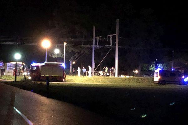 Un homme et une femme, occupants du véhicules, sont décédés dans le drame.