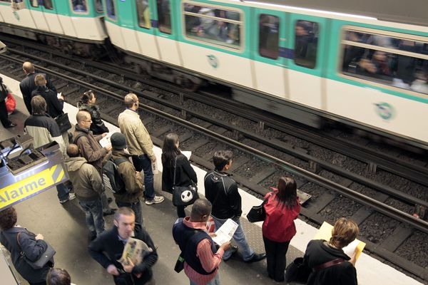 De nombreuses perturbations touchent le métro parisien ce samedi 1er mai 2019 (illustration).