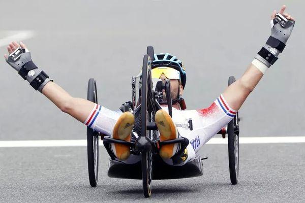 Florian Jouanny (photo), Loic Vergnaud et Riadh Tarsim ont remporté l'argent en relais par équipes, ce jeudi 2 septembre.