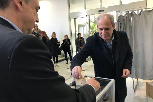 Jean Zuccarelli, à l'heure du vote