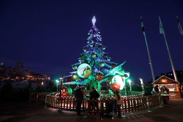 Noël à Monaco cette année.