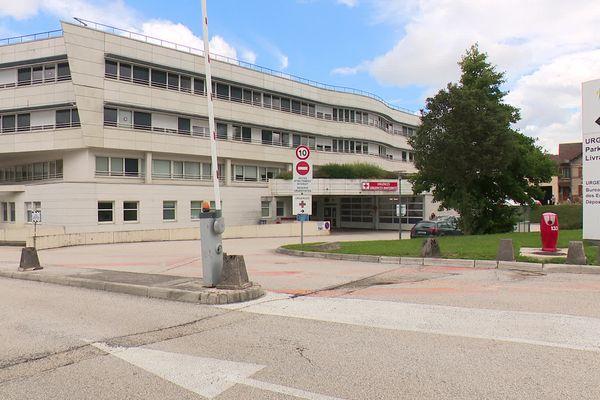 A Pontarlier, dès le lundi 9 août, il n'y aura plus qu'une entrée à l'hôpital de Pontarlier pour contrôler le pass sanitaire
