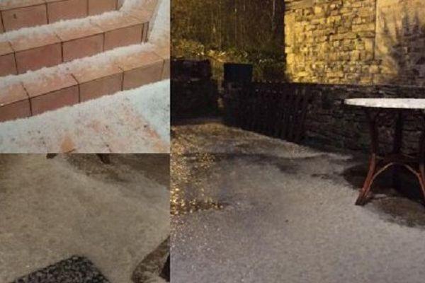 Quelques habitants ont photographié les orages de la nuit.