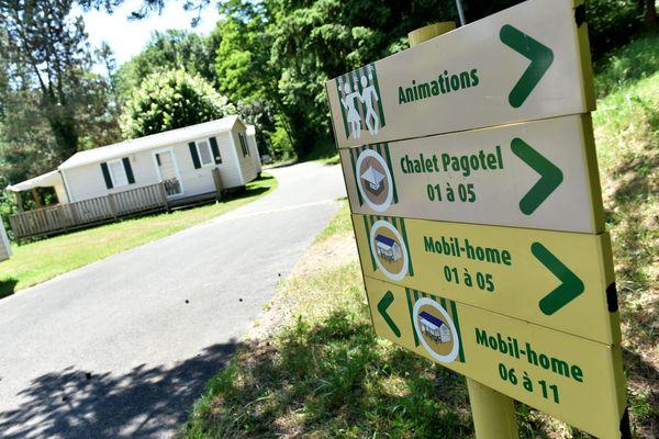 Les campings et gîtes de la région constatent une baisse des réservations de dernière minute.