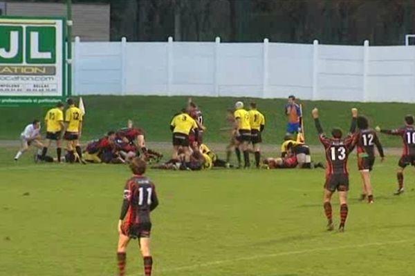Lors de son dernier match au Chalet, Saint Junien avait arraché la victoire à Saint Médard en Jalles.