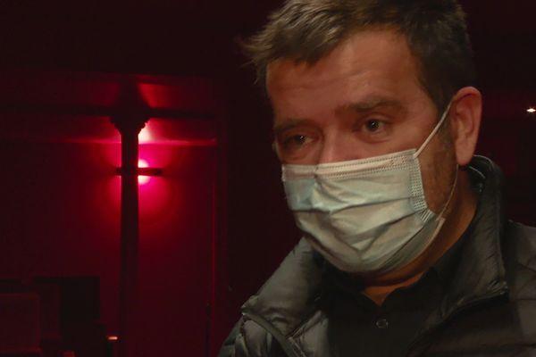 Julien Poncet, directeur du théâtre Comédie - Odéon à Lyon 11/12/20
