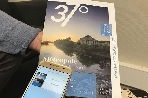 Un magazine papier et numérique