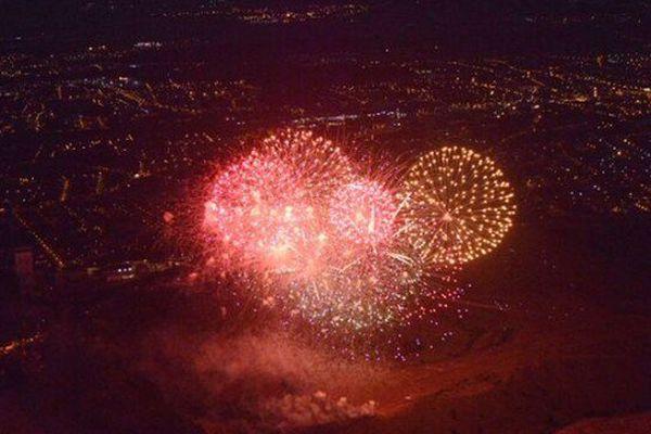 Les terrils du bassin minier parés de mille feux pour fêter trois ans d'appartenance au patrimoine de l'humanité