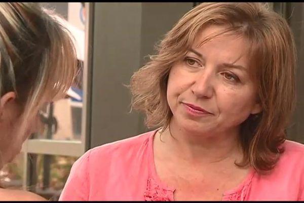Florence Juralina, candidate du Parti animaliste dans la première circonscription de Haute-Corse