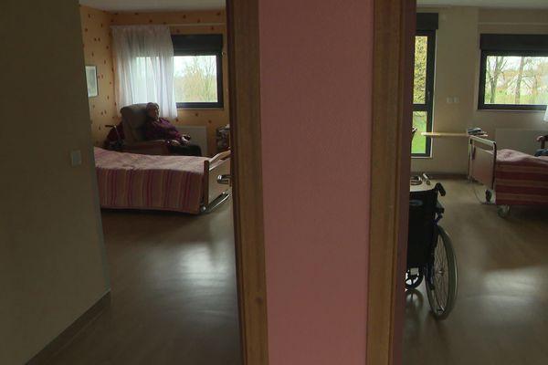 A l'Ehpad Sainte-Anne : l'établissement situé à la Ferrière-aux-étangs accueille 112 résidents