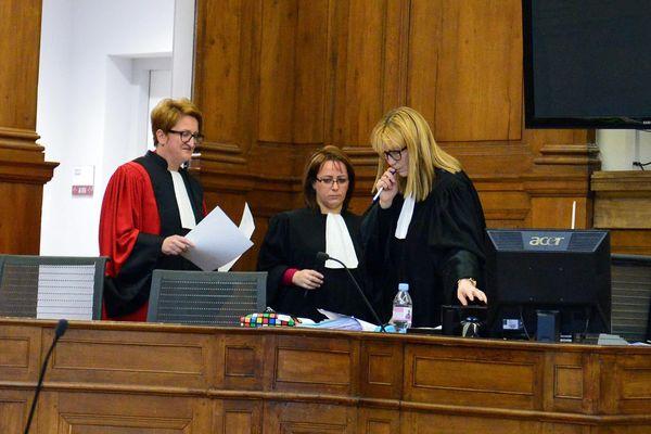 La cour d'assises de Chalon-sur-Saône.
