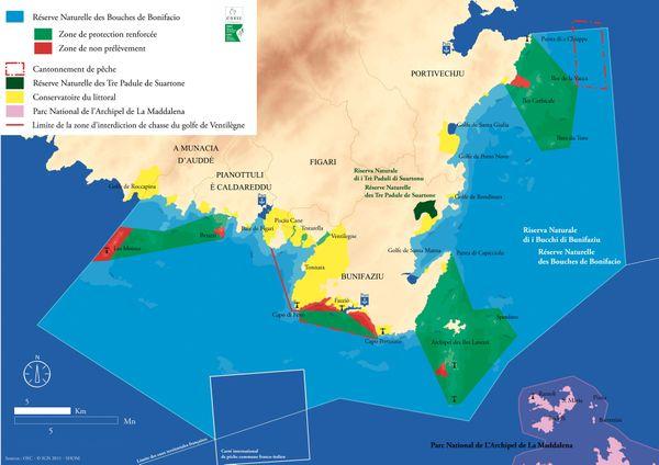 C'est dans cette zone, au fond de la Méditerranée, au sud-est de Bonifacio et au Nord de l'archipel de la Maddalena que des quantités record de microplastiques ont été découvertes.
