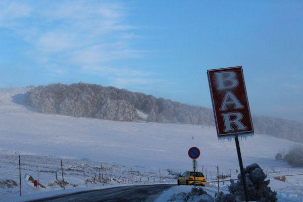 Le manteau neigeux du Ballon d'Alsace