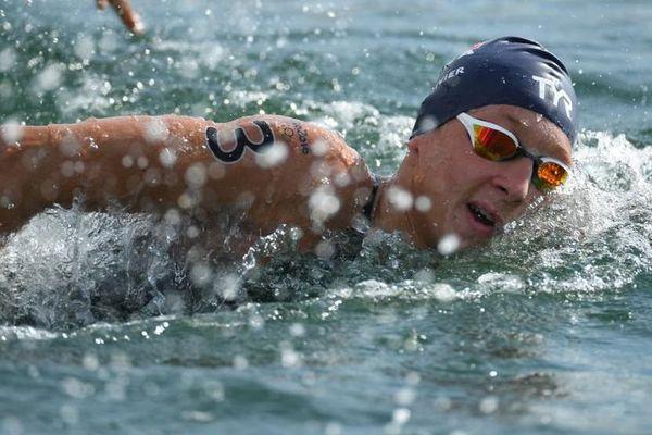 Marc-Antoine Olivier, lors des Jeux Olympiques de Rio - août 2016