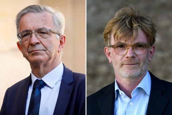 François Bonneau, actuel président de la région Centre-Val de Loire, et Marc Fesneau, candidat soutenu par le MoDem et LREM