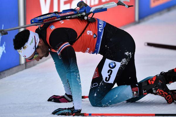 """""""Je ne me reconnais pas sur la piste"""", a avoué dimanche le Catalan Martin Fourcade pour justifier sa décision de faire l'impasse sur la tournée américaine et de renoncer à ses chances en Coupe du monde de biathlon pour se projeter vers les Mondiaux (7-17 mars à Ostersund en Suède)."""